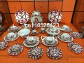 Famous fine bone china dinner set dining room sets service for 6 come with box