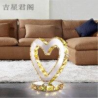 Jetion Zinger Www Shyosdy Com Led Bedroom Nightstand Decoration Crystal Small Desk Lamp Wedding Heart Shaped