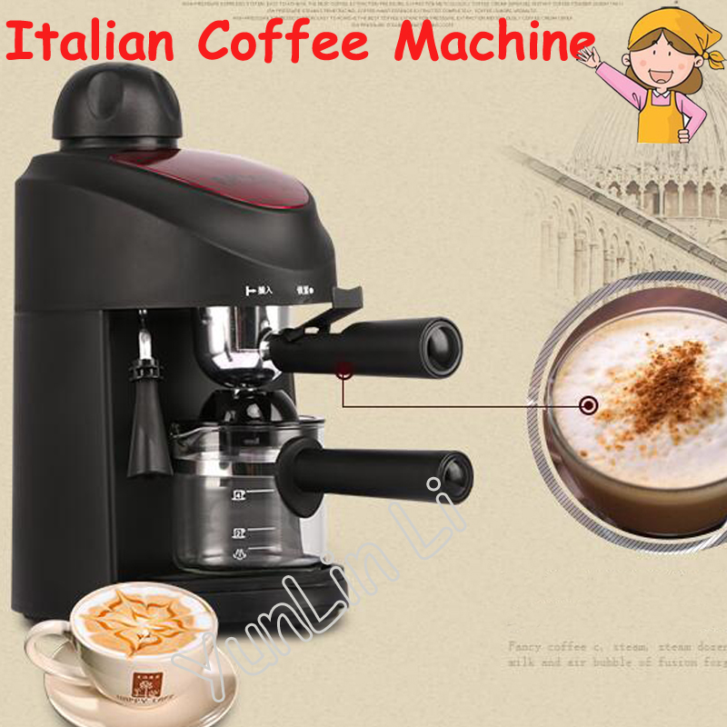Household Semi-Automatic Italian Coffee Machine High-Pressure Multifunctional Small Commercial Steam Milk Foam Machine CM-8009 edtid new high quality small commercial ice machine household ice machine tea milk shop