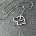 Лабрадор ожерелье, лабрадор кулон, животное ожерелье, сплав собака ожерелье, пэт мемориал подарок, лабрадор очарование
