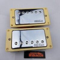 Free Shipping High Quality Guitar Pickups Wilkinson Humbucker Pickup Chrome Cover
