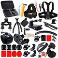 Conjunto de acessórios de montagem pacote kit de acessórios para gopro hero hd 5 4/3/2/1 sj4000 sj5000 sj6000 h9 h9r h9se