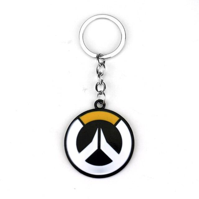 Overwatch Sleutelhangers Hot Online Game Anime Ow Sleutel Ringen