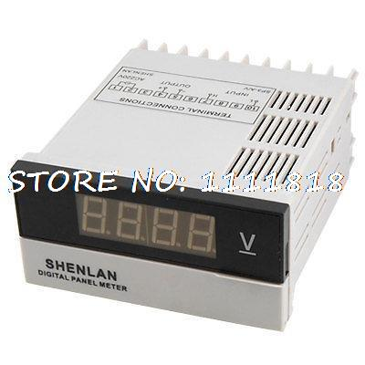 3 1/2 Red LCD Digital DC 0-600V Voltage Panel Meter Voltmeter коляска mr sandman vector premium 2 в 1 50
