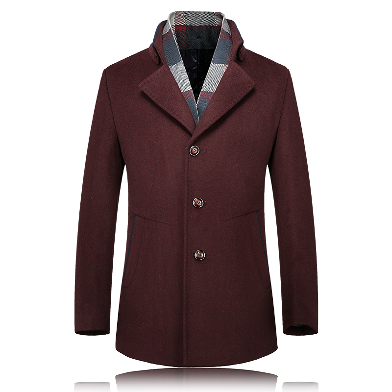 Popular Wool Coats Men-Buy Cheap Wool Coats Men lots from China ...