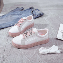 2019 New Canvas Shoes Fashion Women Low To Help Casual Wild