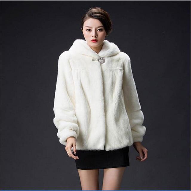 c3f8adb313119 2019 nuevo de imitación visón abrigo de piel abrigos de piel