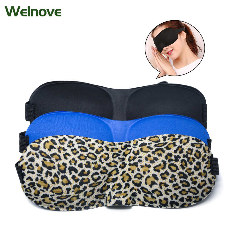 e8730aabbe0 3D Sleep Mask Natural Sleeping Eye Mask Eyeshade Cover Shade Women Men Soft  Portable Blindfold Travel