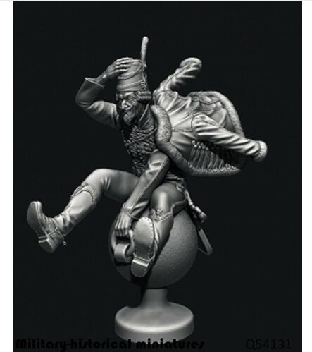 1/32 54MM ANCIENT MAN With Ball 54MM   Resin Figure Model Kits Miniature Gk Unassembly Unpainted