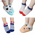 2017 New Spring Summer Children Socks Cotton Cartoon Kids Socks Lovely Animal Bow Anchor Stripe Baby Child Socks 3 Pairs Pack