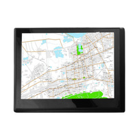 Auto 7 inch 8G+DDR128M Capacitive Screen GPS Navigator 800*480 HD Portable Car GPS Navigation FM Audio And Video Player
