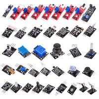 Newest 37 In 1 Sensor Modules Kit With Case Suitable For Arduino & MCU Education User Connectors