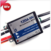 Freeshipping YPG HV 120A ESC (4~14S) Brushless Speed Controller For Trex 700 Helicopter