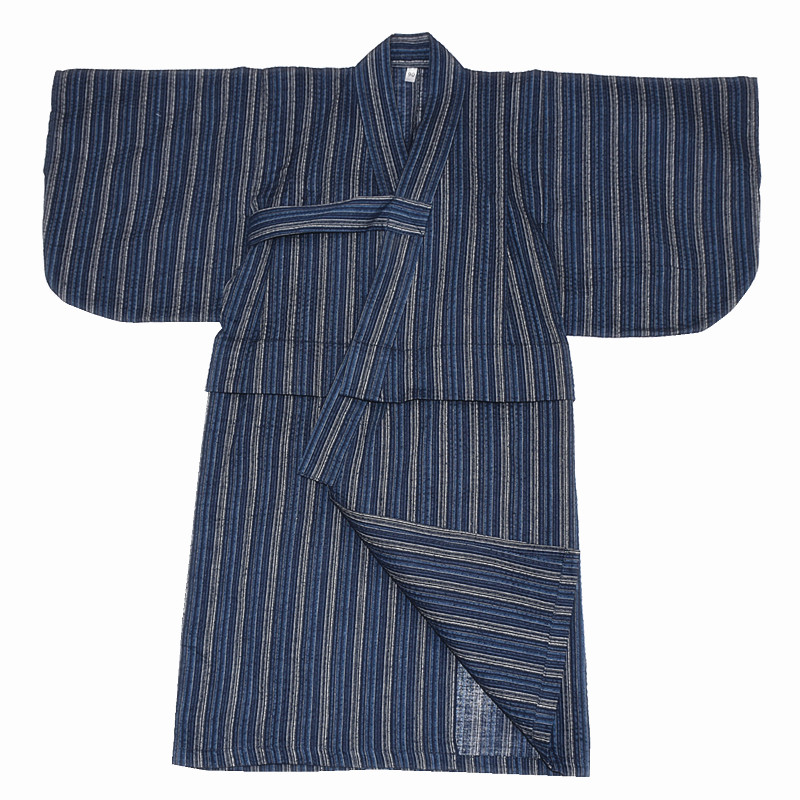 Underwear & Sleepwears Robes 2019 Child Kid Japanese Kimono Yukata Bathrobe Matching Belt Stripe Pajamas Cotton Robe Clothing Long Summer New