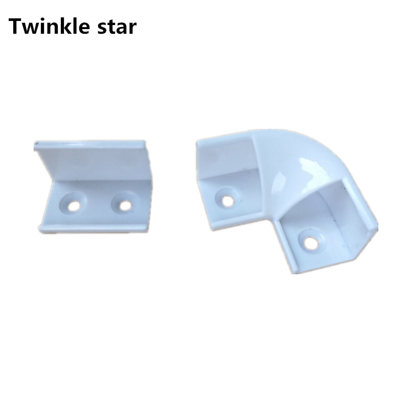 Led Aluminum Profile Corner Connector For Led Strip 5050 3014 3528 5630 Channel Cabinet Light Accessories