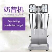Double head milkshake machine Drink Mixer Blender milk shaker Milk bubble mixing machine Commercial milk tea mixer