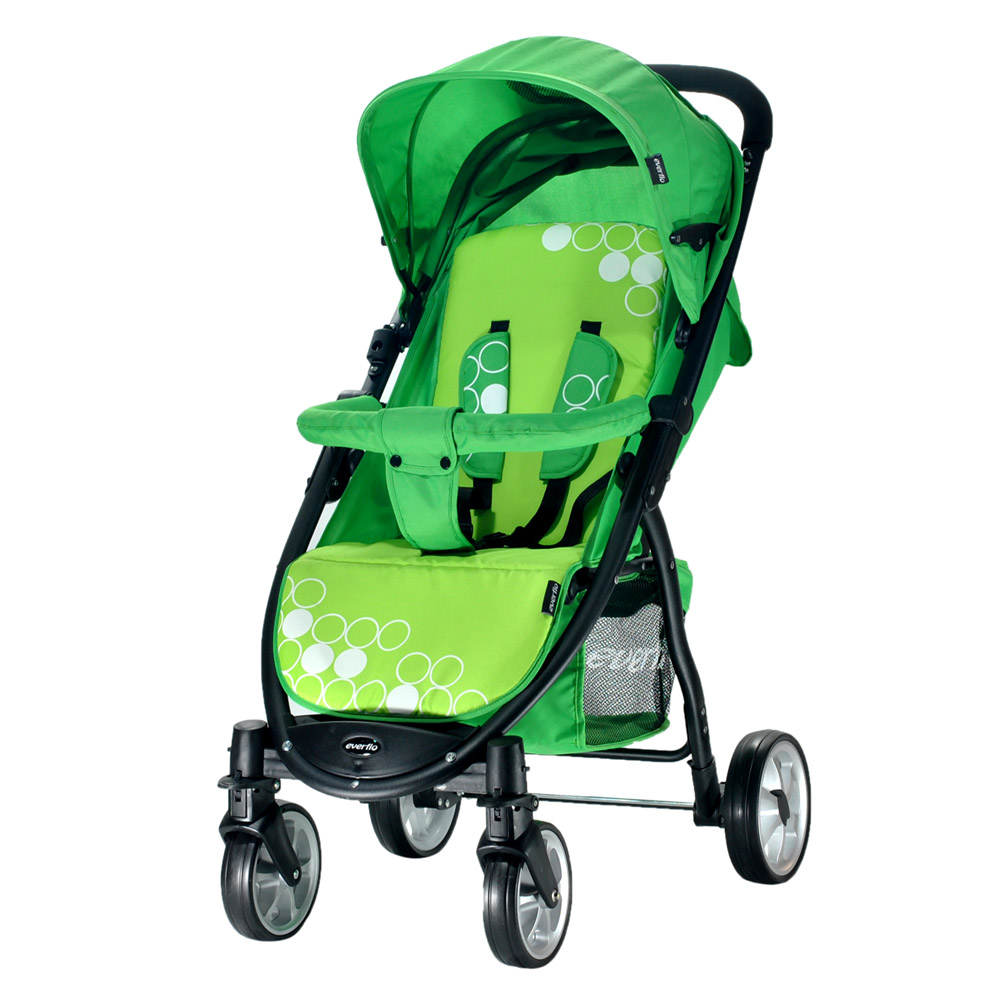 Lightweight Stroller Everflo E-460  Friend  Mother and Kids stroll baby for boys and girls children strollers Green 100003729
