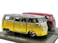 Bburago 1:32 VW Van Samba Alloy Diecast Model Car Miniature Vehicle