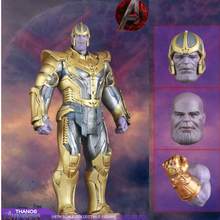 30cm & 16cm The Avengers Infinity War Action Figure Thanos Statue Figures PVC Big Thanos Figure Toys Model Dolls Gifts for Kids