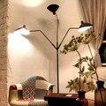 Serge Mouille Pole Floor Lamp modern design Lighting France Classic Lamps For Living Room Bedroom Reading Room floor lights