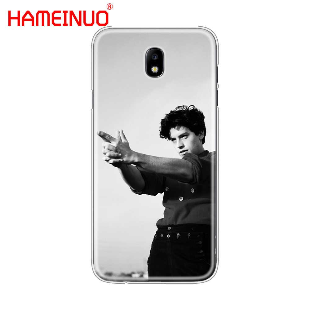 HAMEINUO TV americana Riverdale Cole Sprouse cubierta del teléfono para Samsung Galaxy J3 J5 J7 2017 J527 J727 J327 J330 j530 J730 PRO