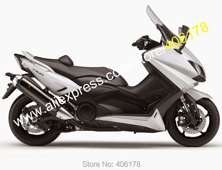 Hot Sales,For Yamaha T-MAX530 2015 2016 T-MAX 530 TMAX530 15 16 T MAX 530 White Bodyworks Motorbike Fairing (Injection molding) hot sales for yamaha tmax530 parts 2012 2014 tmax 530 12 14 tmax 530 motorcycle body aftermarket kit fairing injection molding