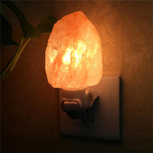 Newest Night light Himalayan Salt Lamp Air Purifier Crystal Salt Rock Bedside Night Light for Children's bedroom light