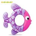 Peixes tropicais de Animais Do Bebê Anel da Nadada Anel Flutuante Bóia Crianças Nadando Círculo Pequeno Peixe 2017 Verão LMY913YD