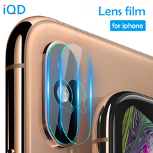 IQD Lens Protector Film for iPhone X XR XS MAX Camera Screen 9H Hardness Ultra Thin Anti-Scratch HD Tempered Glass 7/8