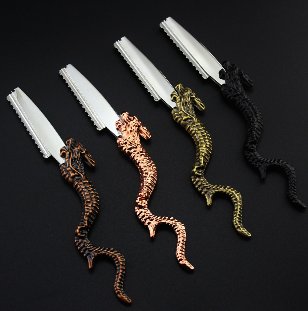 Customize Upscale Professional 2 In 1 Dragon Hair Scissors