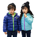Hot Sale Hooded Kids Girls Boys 2017 Winter Coat Long Sleeve WindProof Children Fashion Warm Down Coat Outwear YY2067