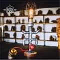 Desk Lamp E27 Coffee Table Light Bar Lamparas Escritorio Luminaria de Mesa Loft Vintage Edison Bulb Table Lamps Water Pipe Light