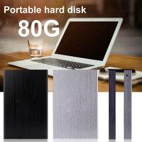 USB 3.0 80GB HDD Portable External Hard Drive Mobile Hard Disk Office Working External HD Hard Disk for PC/Mac