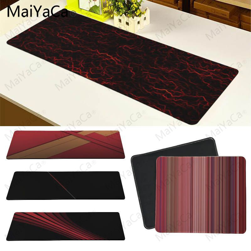 MaiYaCa Personalized Cool Fashion Night Building Keyboard Gaming MousePads Size For 18*22 20*25 25*29 30*90 And 40*90cm