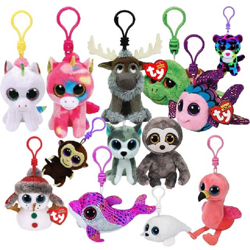 Teeny Tys Stackable Plushes MWMTs Bulk Mixed Lot of 25 TY Beanie Boos