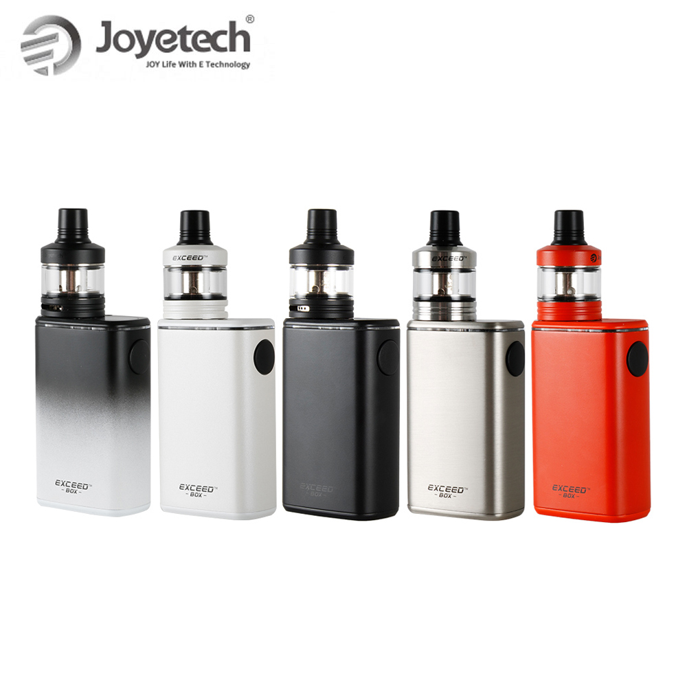 100 Original Joyetech Exceed Box with Exceed D22C Kit 50W Box Mod Built in 3000mAh Battery