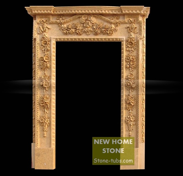 marble door frames 2015 beige marble gloss stone finishes hand carved outside garden stone door frames