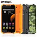 Оригинал Blackview BV5000 5.0 7-дюймовый Android 5.1 MTK6735 Quad Core Водонепроницаемый Мобильный Телефон, 2 ГБ + 16 ГБ Смартфон 4 Г LTE Мобильный Телефон