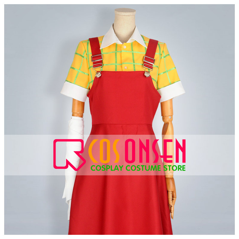 COSPLAYONSEN Good Luck Girl Momiji Binbouda Cosplay Costume All Size Custom Made