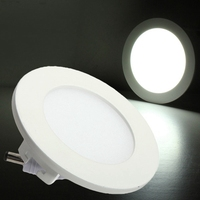 Ultra Thin Design 9W Round Dimmable LED Ceiling Energy Saving Recessed Grid Downlight Round Or Square