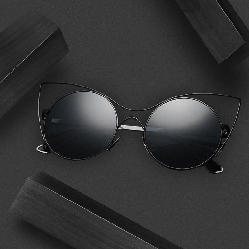 2018 New Style Sunglasses Women UV400 Protection Outdoor Sport Cat eyes Glasses Eyewear Hiking retro sunglasses Run Eyewear 2308