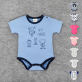 Newborn Baby Body suit Short Sleeved Cotton Character Baby Wear Toddler Underwear Infant Clothing Baby Outfit