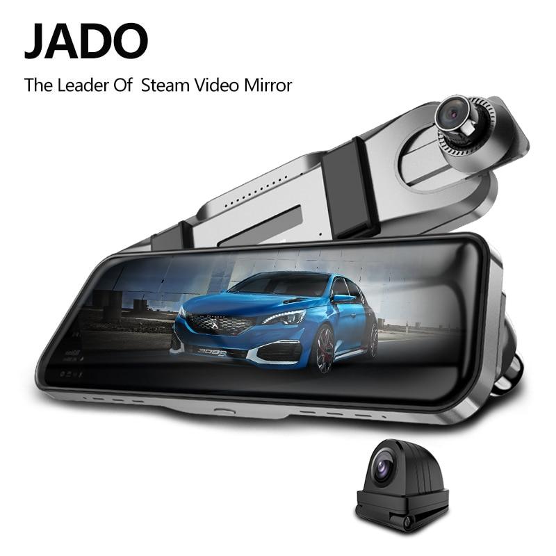 JADO D820s X3 Car Dvr Stream RearView Mirror dash Camera avtoregistrator 10 IPS Touch Screen Full