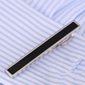 VAGULA Classical Men Wedding Tie Bar Quality Onyx Tie Pin Business Corbata Tie Clip V105