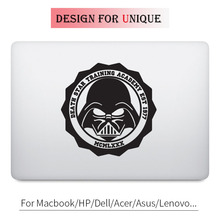 Star Wars Funny Badge Decal Laptop Sticker for Apple Macbook Pro Air Retina 11 12 13 15 inch Mac HP Acer Mi Surface Book Skin