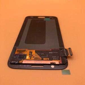 Image 1 - 2560*1440 5.1 Nieuwe Originele Lcd Display Voor Samsung Galaxy S6 G920 G920i G920P G920f G920V G920A Digitizer touch Lcd scherm