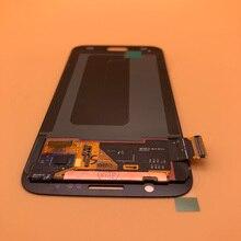 2560*1440 5.1 ใหม่ต้นฉบับจอแสดงผลแอลซีดีสำหรับ Samsung Galaxy S6 G920 G920i G920P G920f G920V G920A Digitizer สัมผัสหน้าจอ LCD