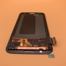 2560*1440 5.1 新オリジナル lcd サムスンギャラクシー S6 G920 G920i G920P G920f G920V G920A デジタイザタッチ液晶画面