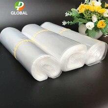 D & P – sac plastique Transparent POF, emballage Film d'emballage thermorétractable, stockage de cosmétiques pour chaussures d'épicerie, 50 – 100 pièces/lot