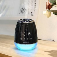 220ML Touch Screen Ultrasonic Humidifier Air Humidifiers for Home Aroma Essential Oil Diffuser Aromatherapy With Timing Clock